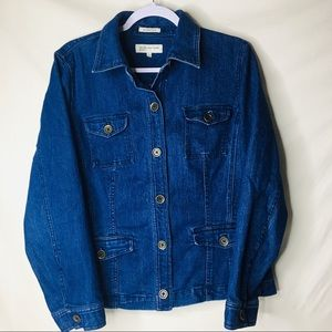 Jones N.Y. Sport Denim Jacket Large